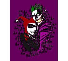 Joker and Harley Photographic Print