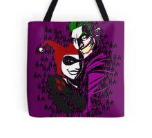 Joker and Harley Tote Bag