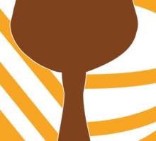 Kingdomcast Mickey Bar logo Sticker