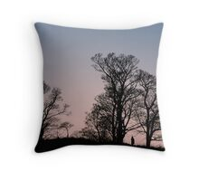 Thinking it out Throw Pillow