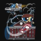 The City of Hill Valley by moysche