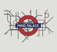 Mind Palace Map by Beth Lewis