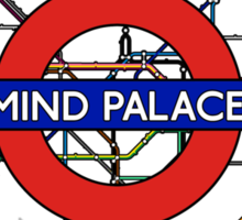 Mind Palace Map Sticker