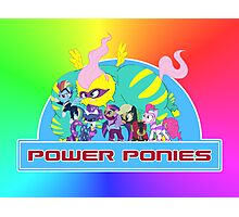 Power Ponies Photographic Print