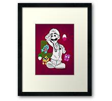 DR Luigi Framed Print