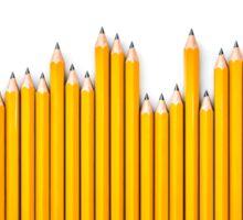 Pencil row Sticker