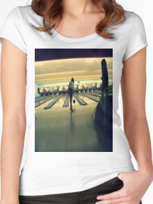 Bowling baby Women's Fitted Scoop T-Shirt
