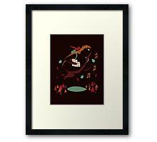 banjo kazooie(brown) Framed Print