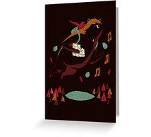 banjo kazooie(brown) Greeting Card