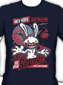 Use Your Braiiins T-Shirt
