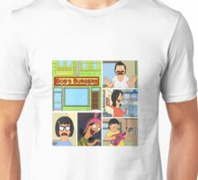 Bobs Burgers Collage Unisex T-Shirt
