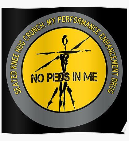 Seated Knee Hug Crunch - My Performance Enhancement Drug Poster