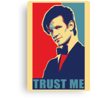 Matt Smith Hope Canvas Print