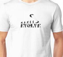 Evolve Kitsurf, kiteboard Unisex T-Shirt