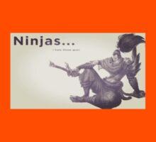 Yasuo Ninjas... I Hate Those Guys Kids Clothes