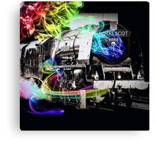 Time Travel Train Canvas Print