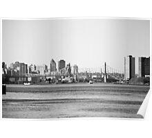 Queens Bridge , NYC Poster