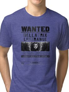 Bellatrix Lestange Wanted  Tri-blend T-Shirt