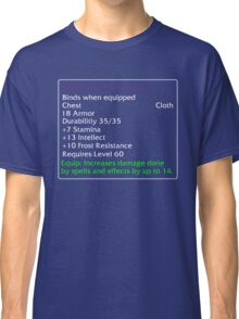 Glacial Vestments Classic T-Shirt