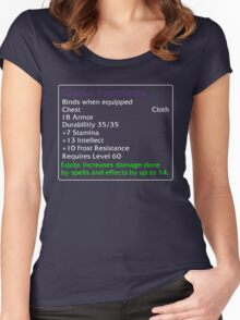 Glacial Vestments Women's Fitted Scoop T-Shirt