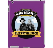 WALT AND JESSE'S BLUE CRYSTAL ROCK iPad Case/Skin