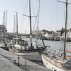 Boats - Weymouth by Antony R James