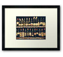 Scelta di Vini Framed Print