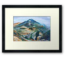 Little Tujunga Framed Print