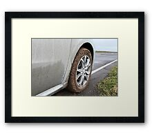end off-road Framed Print