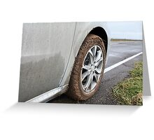 end off-road Greeting Card