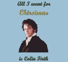 All I want for Christmas is Colin Firth by bellingk