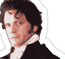 All I want for Christmas is Colin Firth Sticker