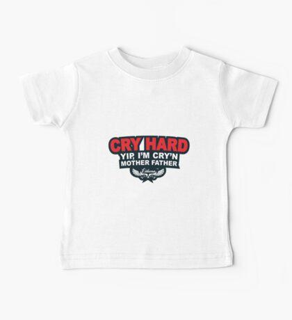 CRY HARD  Baby Tee