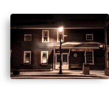 Jones' Hardware (Color)  Canvas Print
