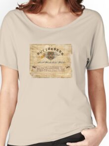Butterbeer Label, The Three Broomsticks Women's Relaxed Fit T-Shirt