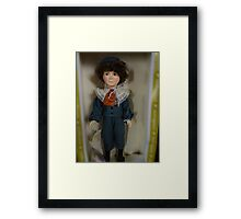 Collectible Doll Framed Print