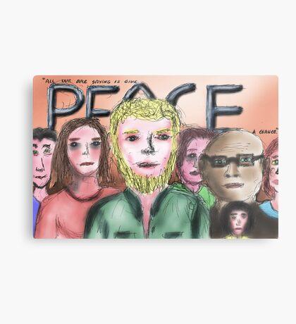 Give Peace a Chance Metal Print