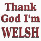 Glad to be Welsh , Wales tee shirt by sjbaldwin
