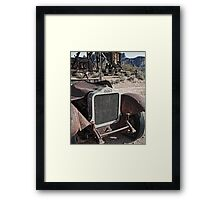 The White Heat Ghost Framed Print