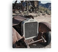 The White Heat Ghost Canvas Print