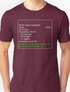 Shadowskin Jerkin T-Shirt