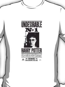 Harry Wanted Poster T-Shirt