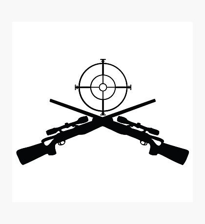 sniper target video game gamer Photographic Print