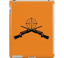 sniper target video game gamer iPad Case/Skin