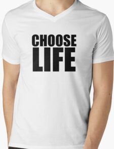 Choose Life !! WHAM Mens V-Neck T-Shirt