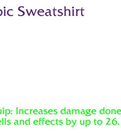 Epic Sweatshirt Sticker