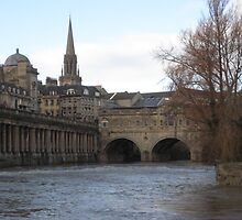 Along the Water in Bath by dramanut98