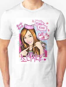 SNSD Jessica - Beep Beep Theme Unisex T-Shirt