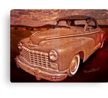 48 Dodge Business Coupe Rat Rod Canvas Print