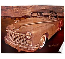 48 Dodge Business Coupe Rat Rod Poster
